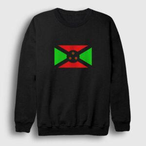 Burundi Sweatshirt siyah