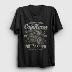 Cafe Racer Tişört siyah