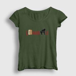 Çanakkale Kadın Tişört haki