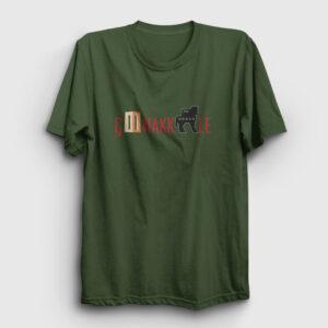Çanakkale Tişört haki