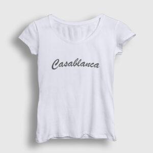 Casablanca Kadın Tişört beyaz