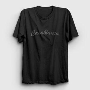 Casablanca Tişört siyah