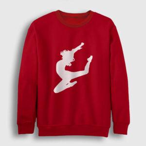Cheerleader Sweatshirt kırmızı