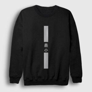 Chinese Minimal Sweatshirt siyah