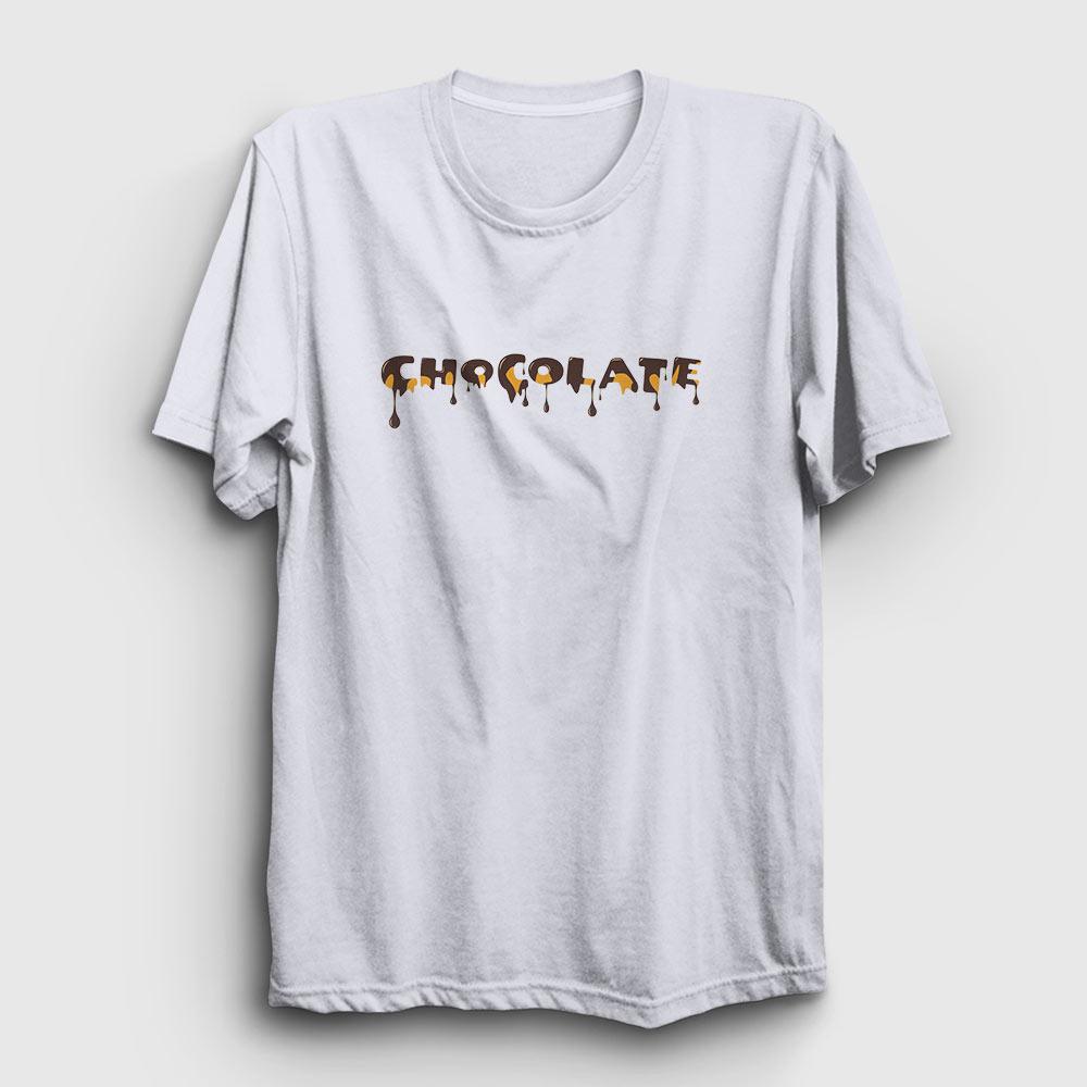 chocolate tişört beyaz