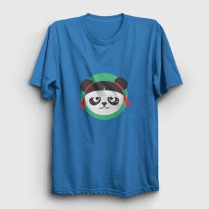 Çinli Panda Tişört açık mavi
