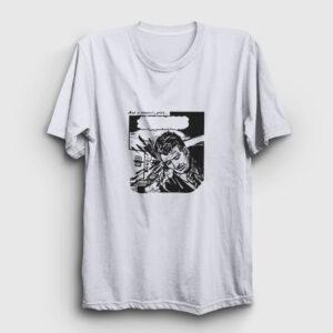 Çizgi Roman Bang Tişört beyaz