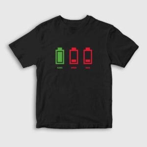 Çocuk Enerjisi Çocuk Tişört siyah