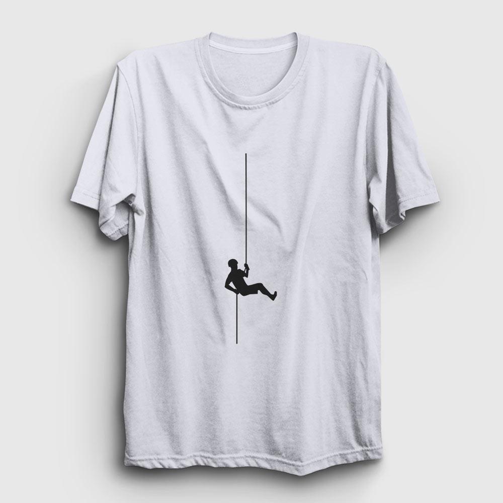 dağcı tişört beyaz