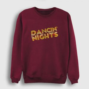 Dancin Nights Sweatshirt bordo