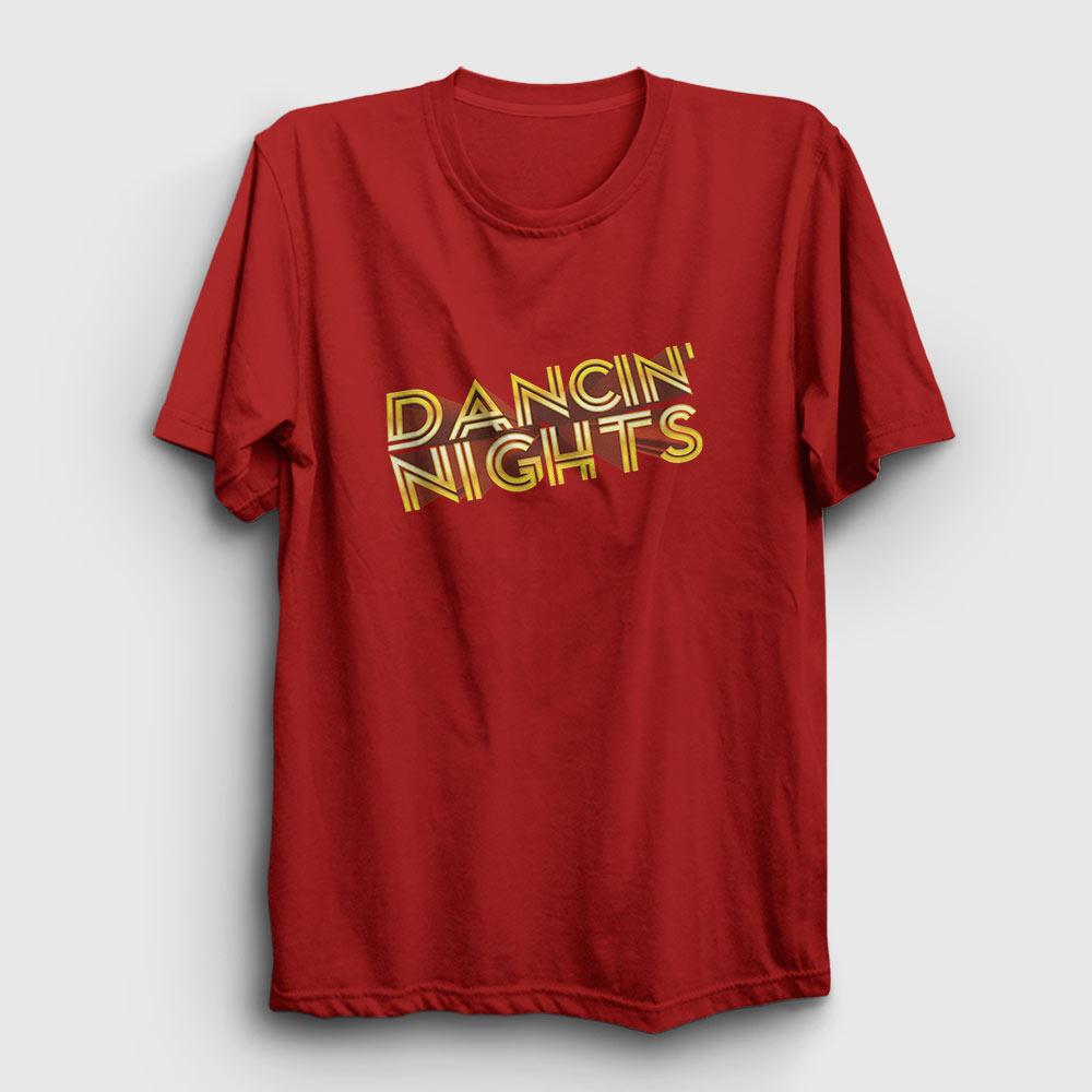 Dancin Nights Tişört kırmızı