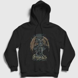 Darkness Kapşonlu Sweatshirt siyah