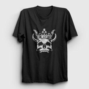 Dead King Tişört siyah