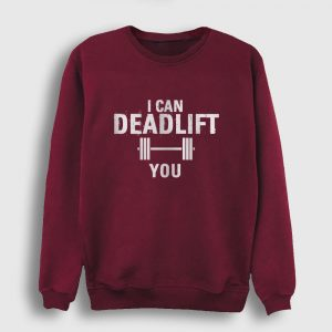 Deadlift Sweatshirt bordo