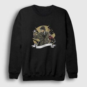 Dedektif Sweatshirt siyah