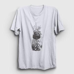 Denizci Tişört beyaz