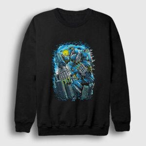 Destroy The City Sweatshirt siyah