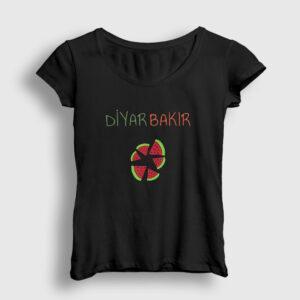 Diyarbakır Kadın Tişört siyah