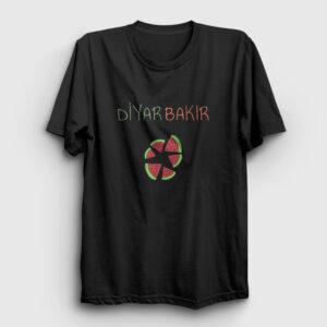 Diyarbakır Tişört siyah