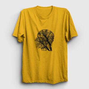 Doğayı Düşünen İnsan Tişört sarı