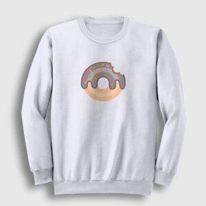 Donut Sweatshirt beyaz