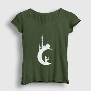 Dua Kadın Tişört haki