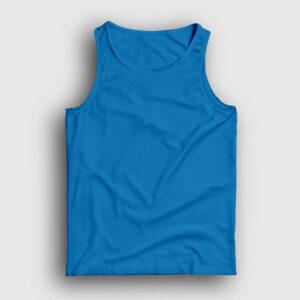 düz açık mavi atlet