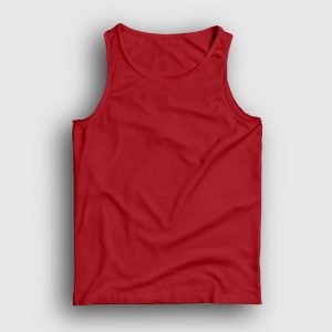 düz kırmızı atlet