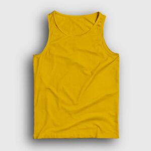 düz sarı atlet