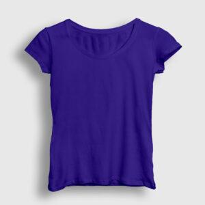 Düz Lacivert Kadın Tişört