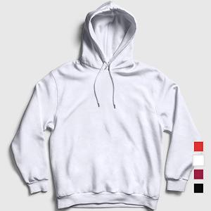 Düz Büyük Beden Kapşonlu Sweatshirt