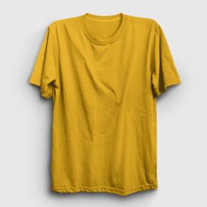 Düz Sarı Tişört sarı