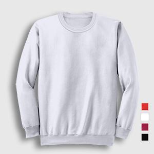 Düz Büyük Beden Sweatshirt