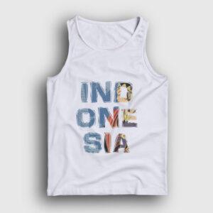 Endonezya Atlet beyaz