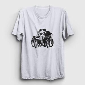 Engelsiz Aşk Tişört beyaz