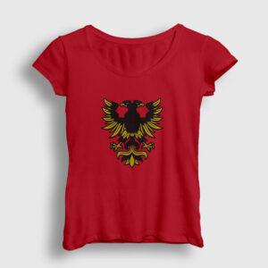 Erzurum Kadın Tişört kırmızı