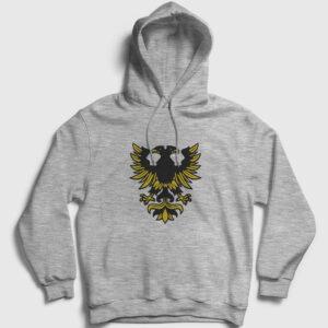 Erzurum Kapşonlu Sweatshirt gri kırçıllı