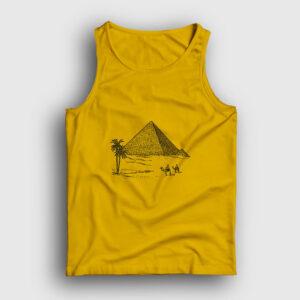 Eskiz Piramitler Atlet sarı