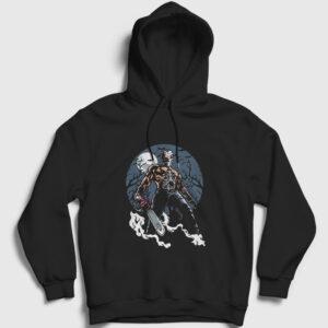 Evil Killer Kapşonlu Sweatshirt siyah