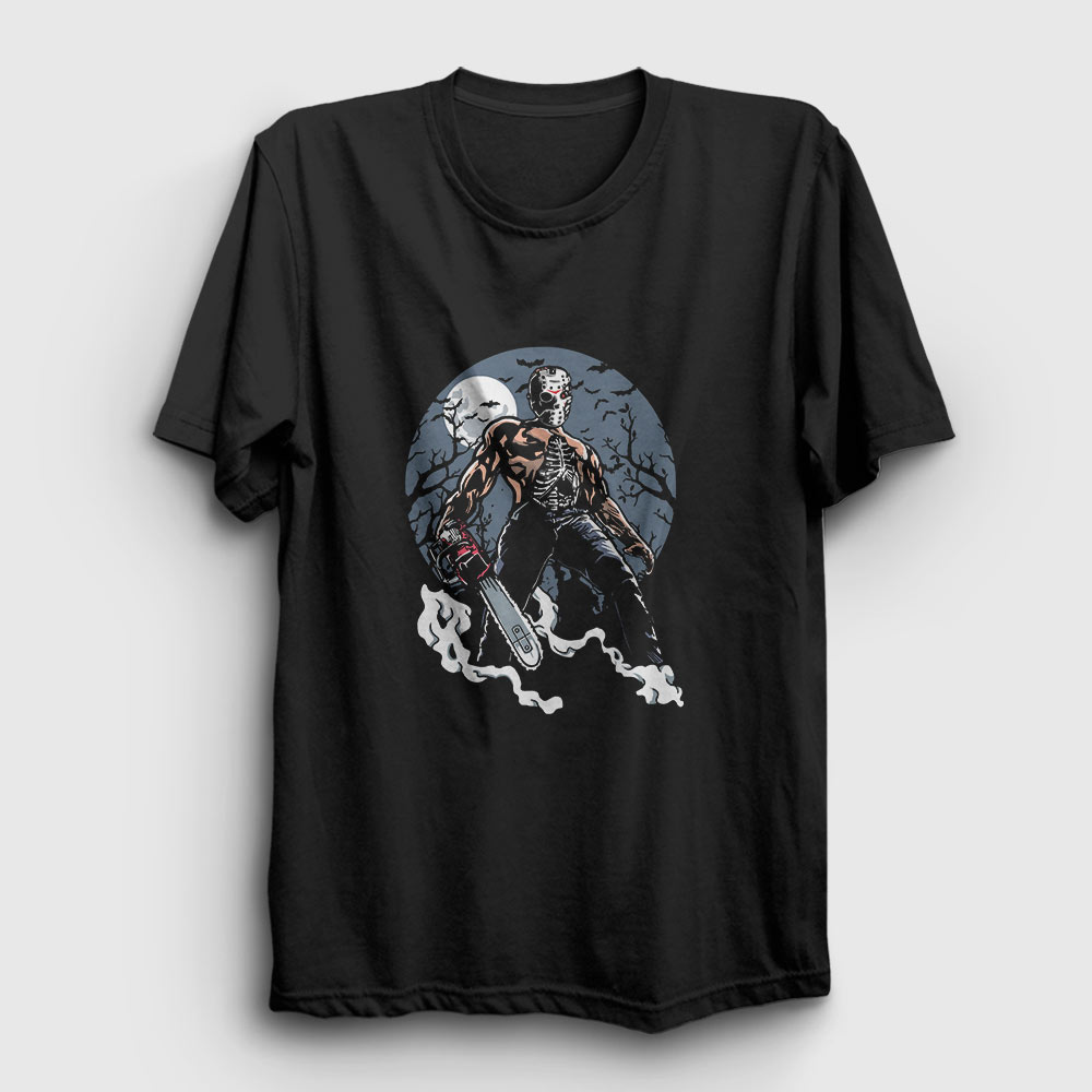 evil killer tişört siyah