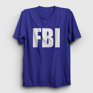 FBI Tişört lacivert