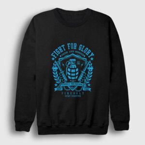 Fight For Glory Sweatshirt siyah