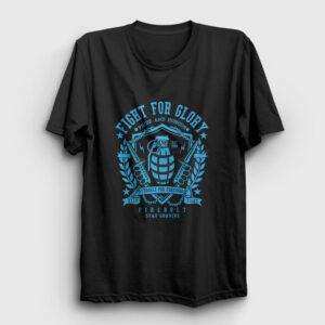 Fight For Glory Tişört siyah