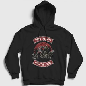 Fight The Dead Kapşonlu Sweatshirt siyah