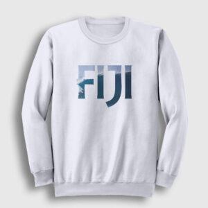 Fiji Sweatshirt beyaz