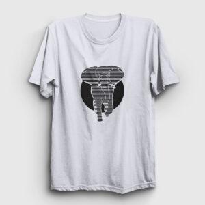 Fil Tişört beyaz