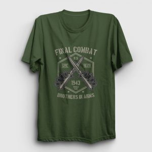 Final Combat Tişört haki