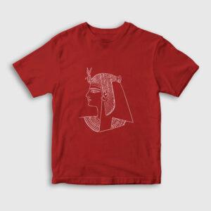 Firavun Çocuk Tişört kırmızı