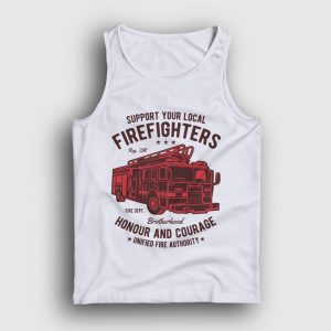 Firefighters Truck Atlet beyaz