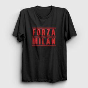 Forza Milan Tişört siyah